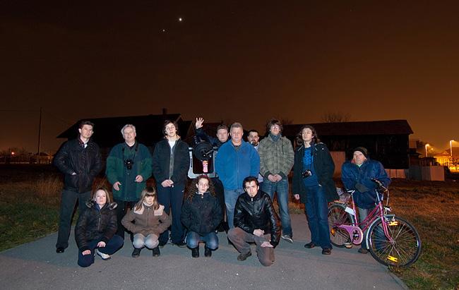 Promatranje konjunkcije Venere i Jupitera, 14. ožujka 2012.