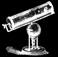 Slika 11. Newtonov teleskop