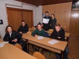 Mladi članovi AD Koprivnica pripremaju se za natjecanje.