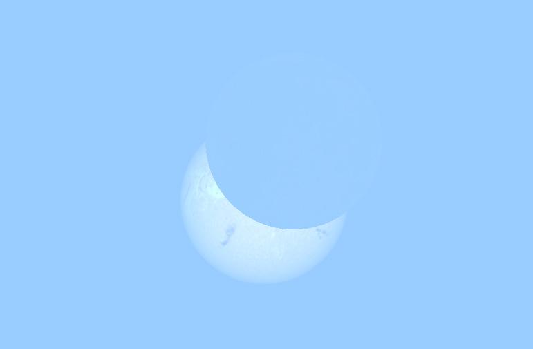Djelomična pomrčina Sunca 20.3.2015. u 10:30 sati