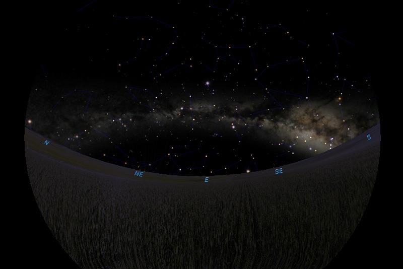 Mliječna staza 8.4.2020.