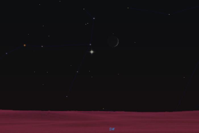Venera i Mjesec 9. listopada