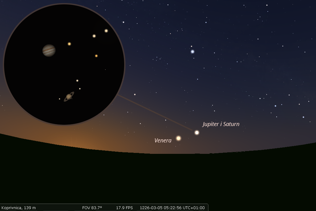 Konjunkcija Jupitera i Saturna 1226. godine