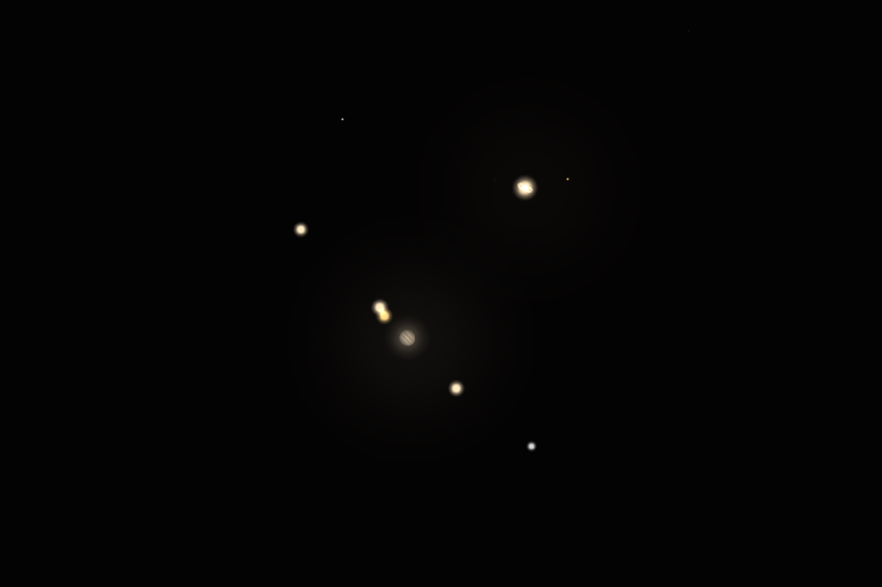 Velika konjunkcija Jupitera i Saturna 21.12.2020.